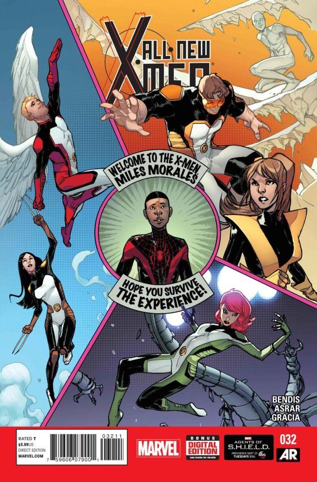 All New X Men 32 Issue Capas De Quadrinhos Xmen Marvel