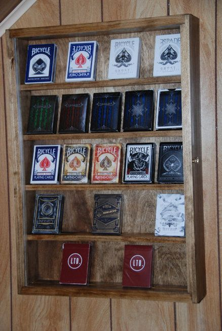 Playing Card Display Case
