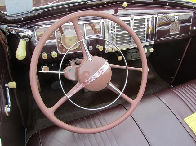 Plymouth Convertible Dashbaord 1940 Classic Car