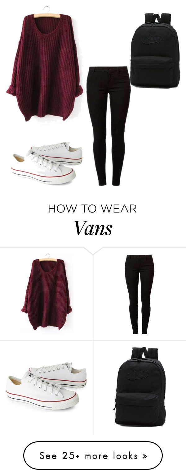 """casual"" by charlottefitzsimons on Polyvore featuring Dorothy Perkins, Converse and Vans"