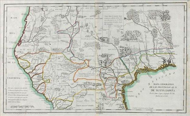 Feria cartográfica exhibe primer mapa de 1746 con las 13 colonias de EE.UU.