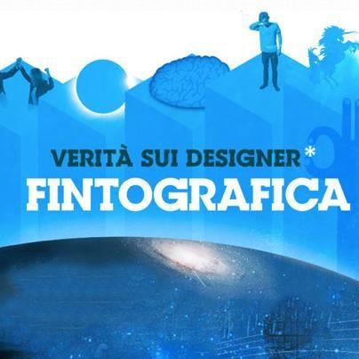[FINTOGRAFICA] La (vera) verità sui #designer!   http://www.kollettivokuore.com/infografica-sui-designer/  #infografica #infographic #webgraphic
