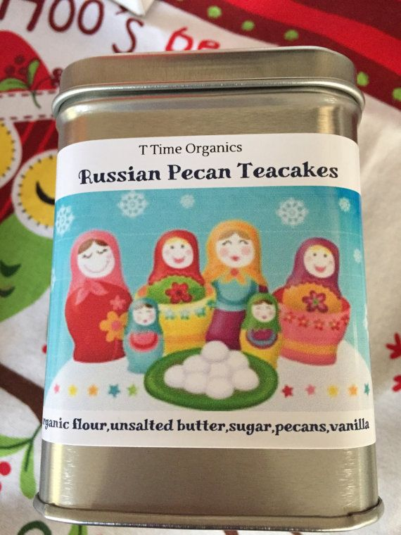 Pecan Tea CakesRussian tea cakesMexican teacakes by TTimeOrganics