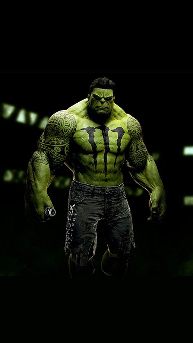 Monster hulk Energy drinks Pinterest Hulk and Monsters