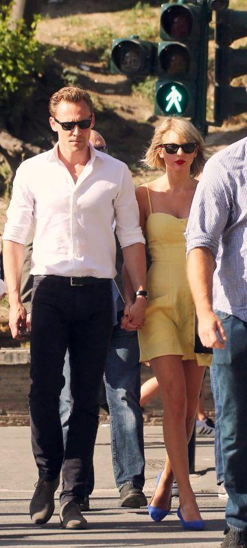 Taylor Swift ♥ Tom Hiddleston = HiddleSwift in Rome!