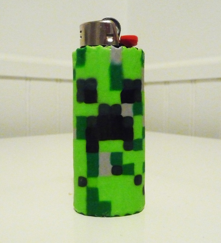 Minecraft CREEPER Perler Bead LIGHTER CASE. $10.00, via Etsy.Creepers Perler, Olivier Boards, Minecraft Creepers, Perler Beads, Beads Lighter, Beads Ideas, Minecraft Beads, Lighter Cases, Beads Creations