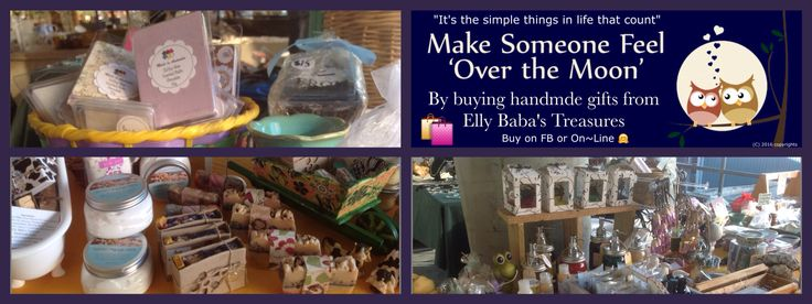 People that buy handmade gifts, are the best people in the world to me. Let's go shopping in my store.