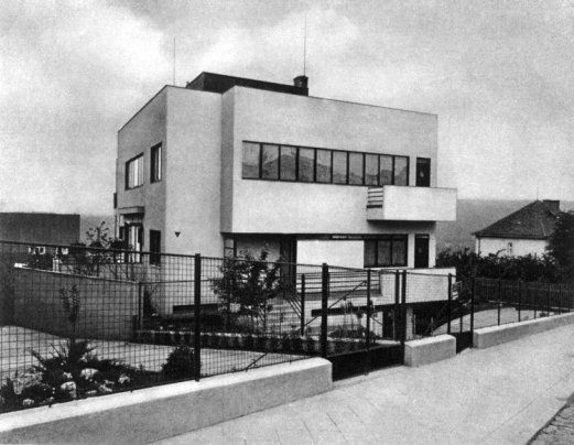 Žáček's own house | Objects | Brno Architecture Manual. A Guide to 1918-1945 Architecture
