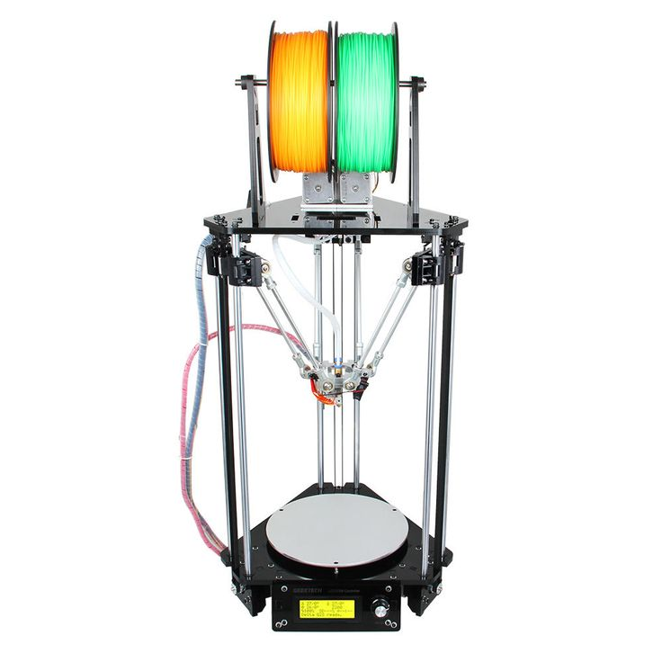 Auto Level Kossel Delta Rostock G2s dual extruder 3D Printer free ship from USA - Print ABS/ PLA/Wood/Nylon filament #printer #free #ship #from #extruder #dual #level #kossel #delta #rostock #auto