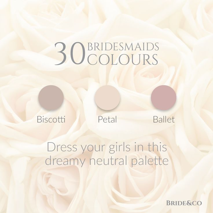 30 #bridesmaids colours available in 10 different styles! Click to view more and book a free fitting at Bride&co now.  #bridesmaidsdresses #dresses #weddings
