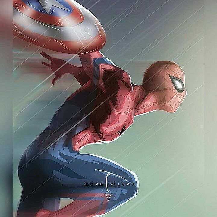Love the new Spider-Man!! Art by Chad Villar  #captainamericacivilwar #marvelcomics #Comics #comicbooks #avengers #marvel  #captainamerica #ironman #thor #hulk #hawkeye #blackwidow #spiderman #vision #scarletwitch #civilwar #spiderman #infinitygauntlet #blackpanther #guardiansofthegalaxy #deadpool #wolverine #daredevil #xmenapocalypse #xmen #cyclops #magneto #psylocke #gambit #rogue http://ift.tt/1WhmICY