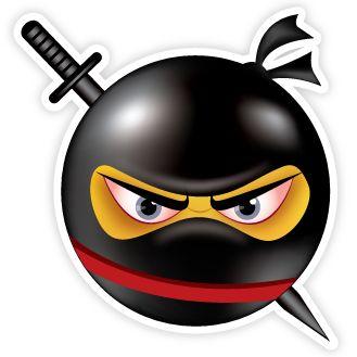 Ninja Emoji.                                                                                                                                                                                 More