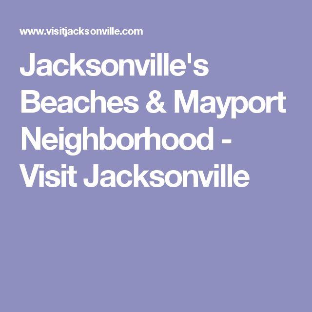 Jacksonville's Beaches & Mayport Neighborhood - Visit Jacksonville