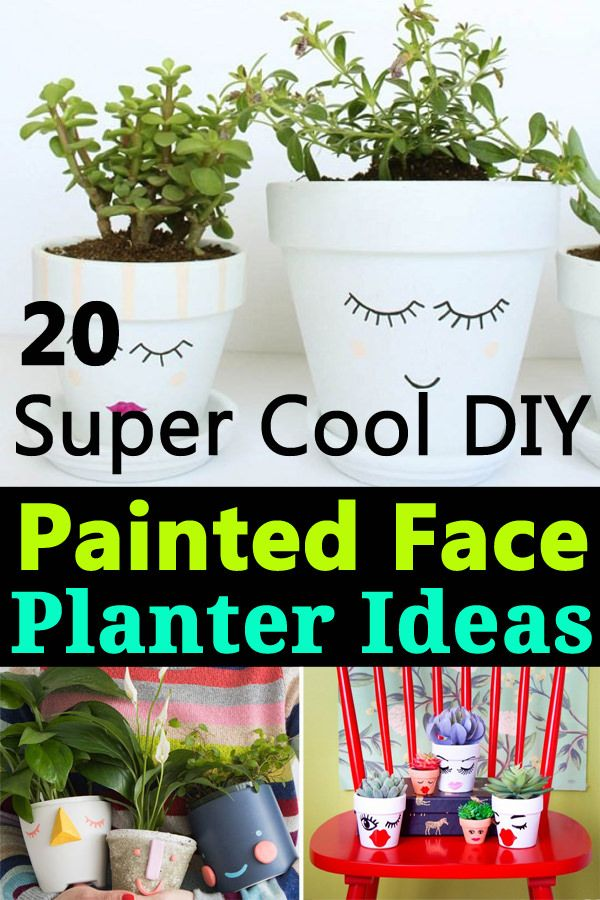 20 Diy Face Planters You Can Make In Minutes Face Planters Face