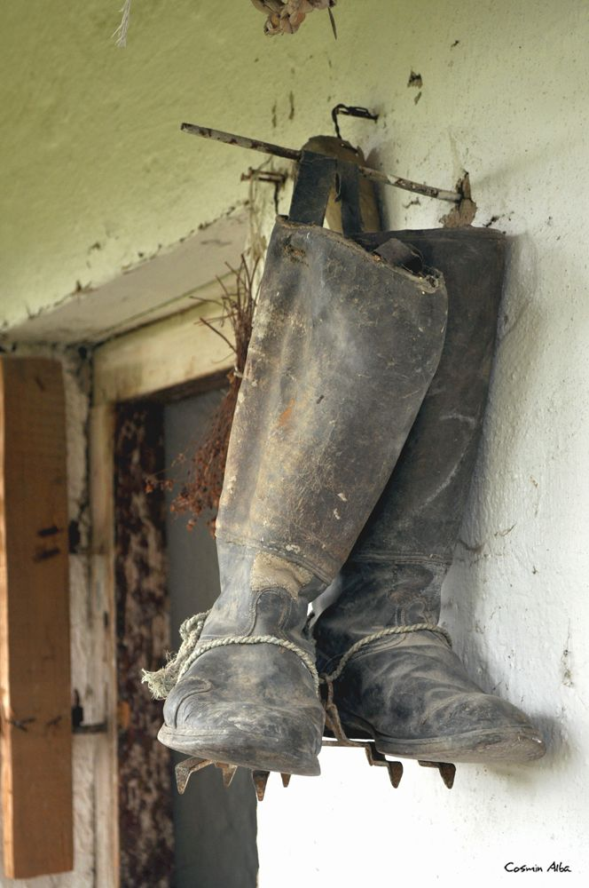 a very #old #boots ...