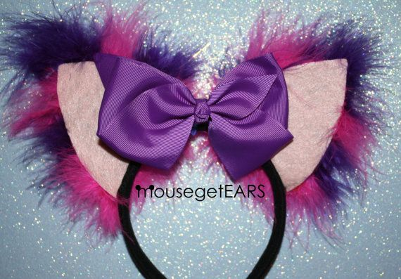 Cheshire Cat Inspired EARS by MouseGetEars on Etsy