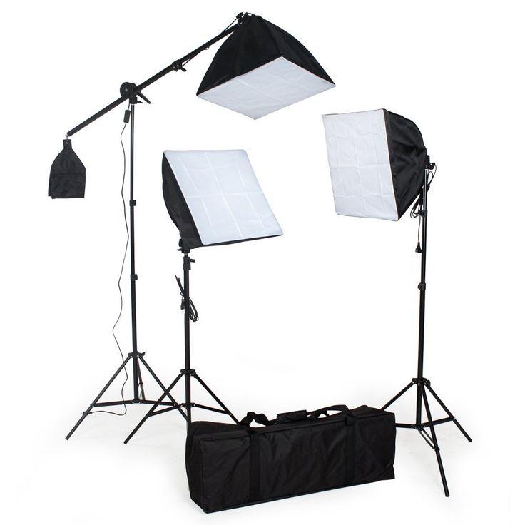 TecTake® Komplettes Profi Fotostudio Set inkl: Amazon.de: Kamera