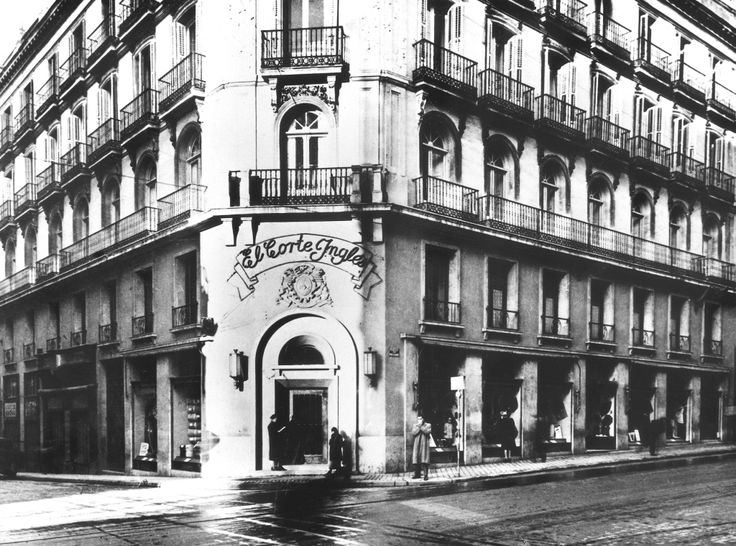 El Corte Ingles. Madrid, 1941