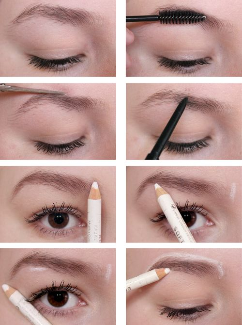 How to Shape Your Brows