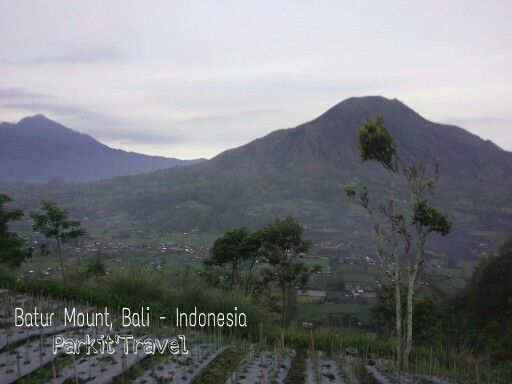 Batur Mountain.