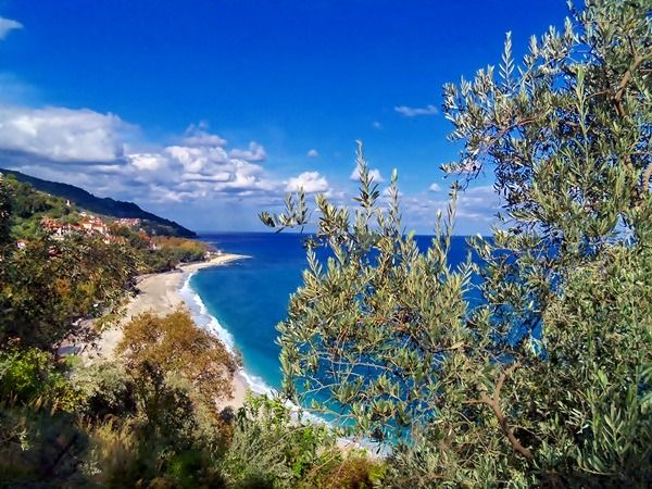 Papa Nero beach - Pelion    GREECE