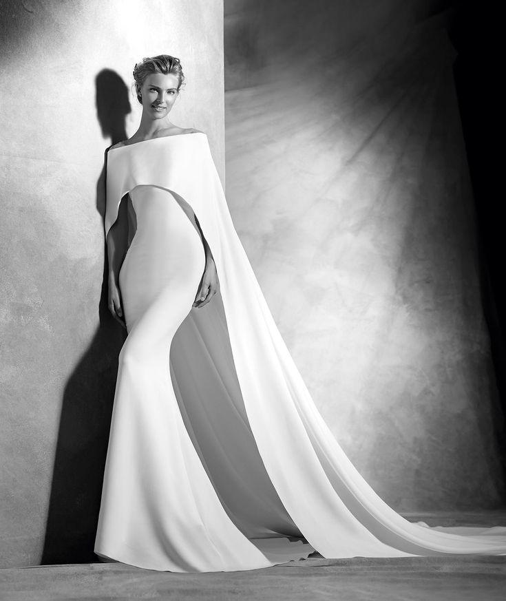84 best VESTIDOS NOVIA images on Pinterest | Short wedding gowns ...