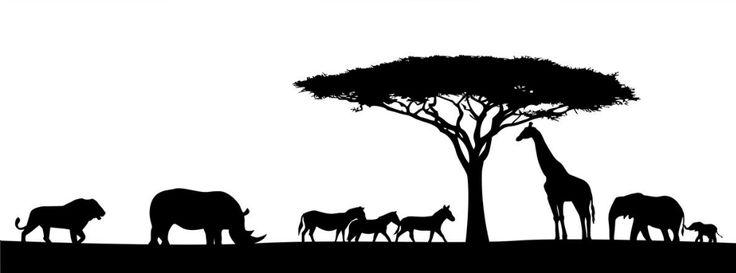 Wall Art African Tree Tree Stencil Acacia Tree