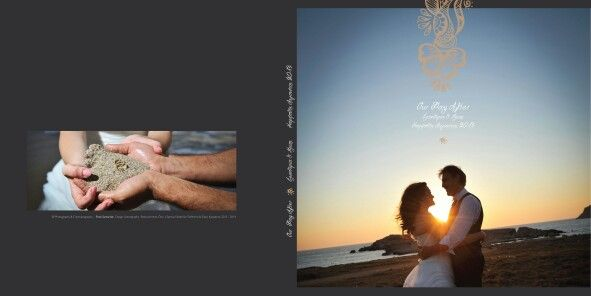 Wedding album cover Fotis Samaridis Photography