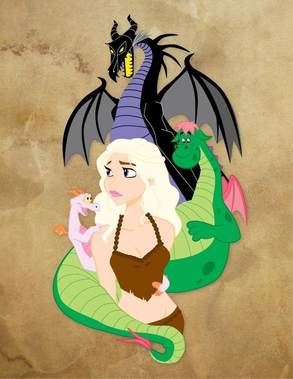 Mother Of Disney Dragons