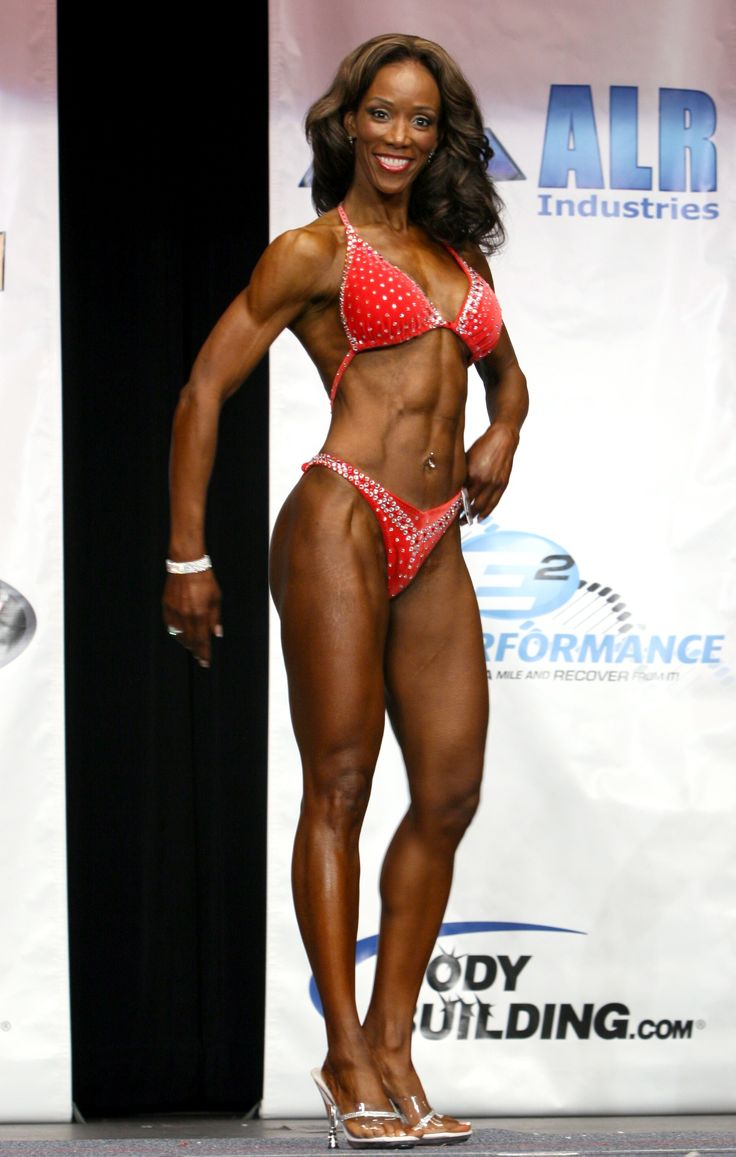 Wendy Ida at age 57! Entering her FIRST fitness contest and....WINNING IT!!!