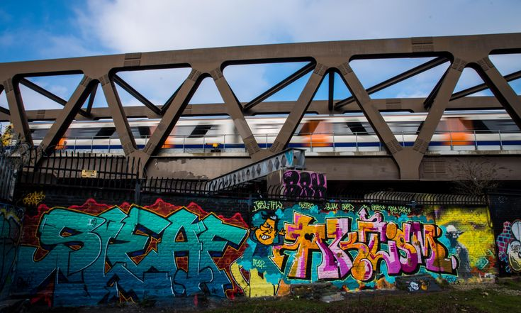 'The train came insanely close': graffiti artists on why they risk their lives  – illustrations