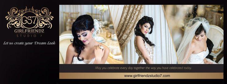 Indian Bridal Hair & Makeup BEAUTY   BRIDAL   FASHION   EDITORIAL   ACADEMY www.girlfriendzstudio7.com
