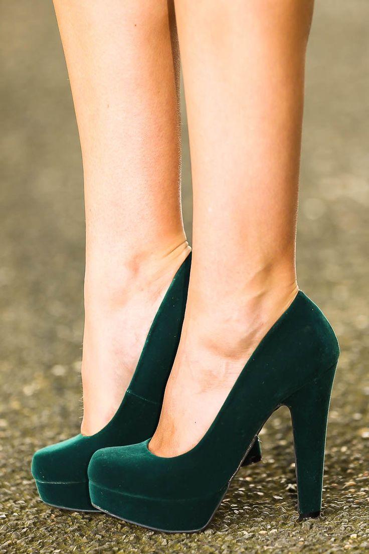 Strike A Pose Heels-Hunter #reddressboutique