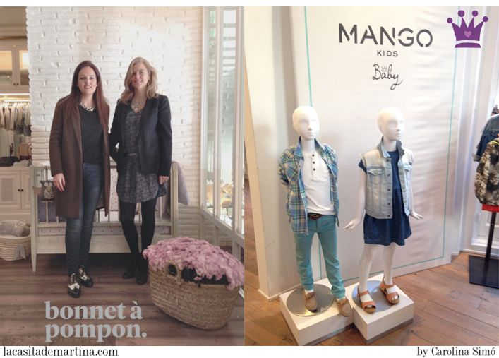 ♥ PRESS DAY moda infantil en Madrid de MANGO y BONNET À POMPON ♥