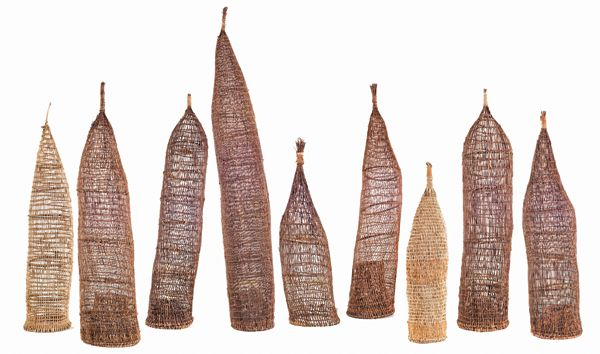 FireWorks gallery - Maningrida Arts Culture - woven fish traps
