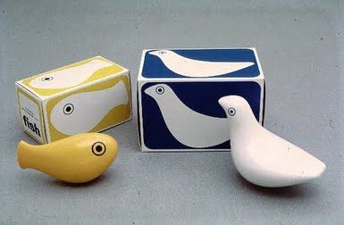 Fish and Bird bath toys with original boxes, designed by Patrick Rylands, United Kingdom, 1970, by Trendon Toys.