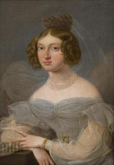 Franz Joseph Pitschmann, Portret Ernesty Tarnowskiej (ok.1830) | Katalog MNK