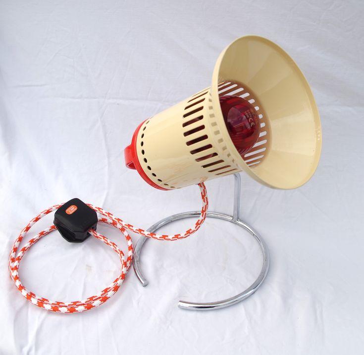 Extremely Rare Unique Chirana Desk Lamp 1960s