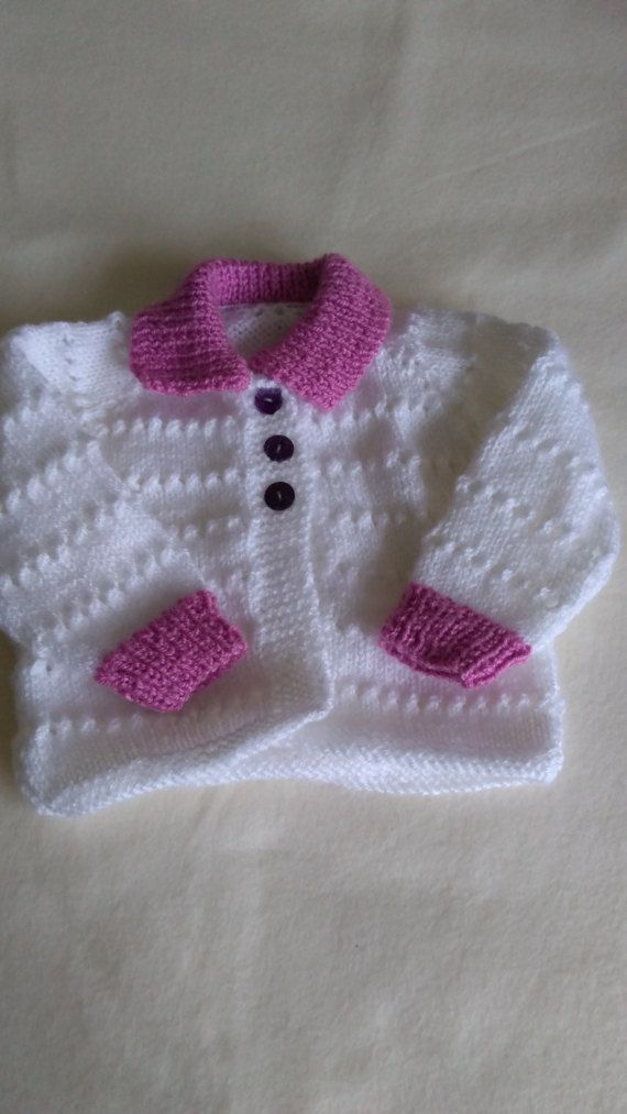 Baby Girl's First Size 0-3 Months by NoveltyKnitandCrafts on Etsy