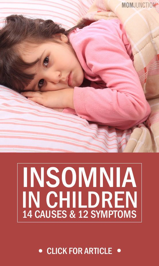 Insomnia In Children - 14 Causes & 12 Symptoms You should Be Aware Of