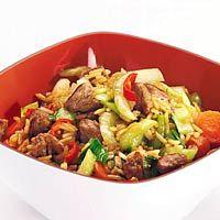 Recept - Gebakken rijst met paksoi - Allerhande