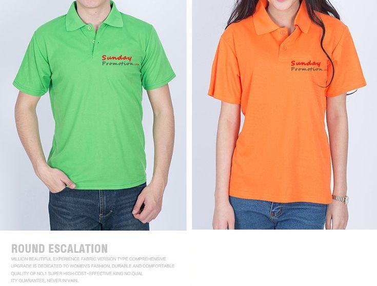 35% Cotton 7-oz Plain Color Custom Polo Shirts, for high school uniform, workwear, free shipping at www.sundaypromotion.com
