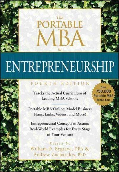 The Portable MBA in Entrepreneurship #mbadegree
