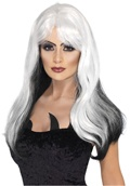 Image of: Witch Wig Black and White
