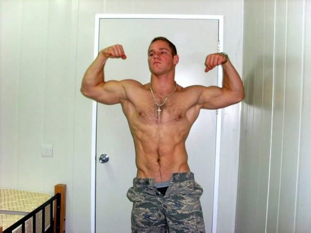Gay sexy muscular military men naked black