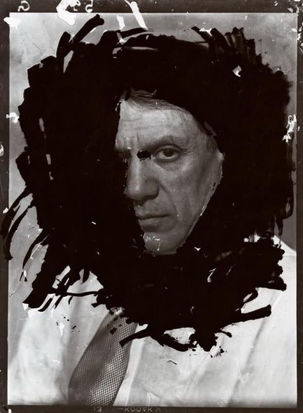Dora Maar Portrait de Picasso, Paris, studio du 29, rue d'Astorg, 1935-1936