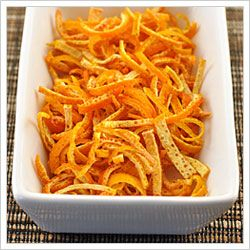 Make Your Own Dried Orange Peel         Dried orange peel makes a delicious, piquant addition to a wide variety of both savory and sweet dis...