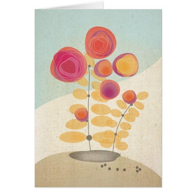Fanta Rose Greeting Card
