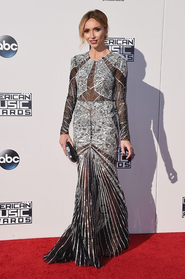Giuliana Rancic attends the 2015 American Music Awards at Microsoft Theater on November 22, 2015 in Los Angeles, California.