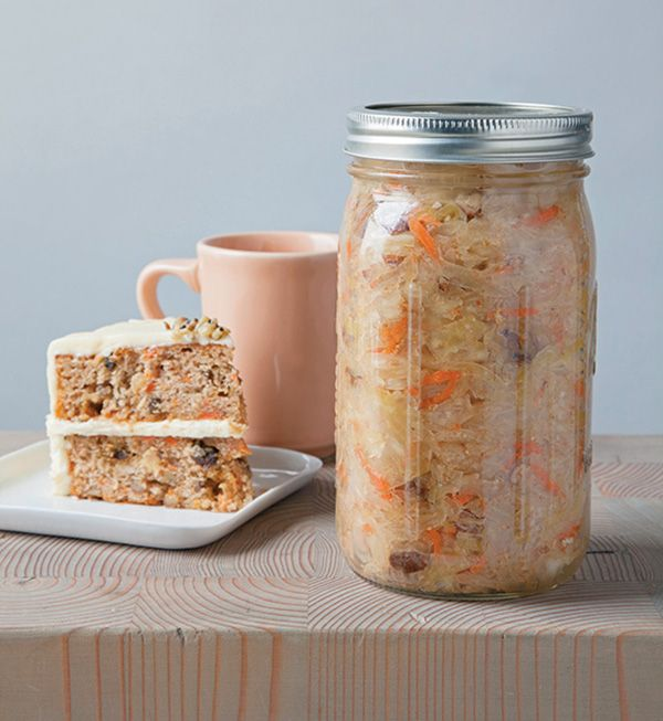 Carrot Cake Kraut and a Review of Ferment Your Vegetables